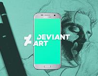 DeviantArt App Redesign