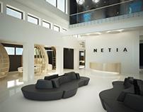 #4 | Interior design of a telecoms company