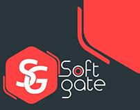 Soft Gate Logo & Identity