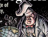 Magazine Illustrations: The Progressive