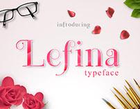 Lefina Typeface