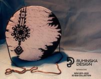Papercut Folk 3D Bag Collection