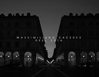 Reel 2016 Massimiliano Caceres