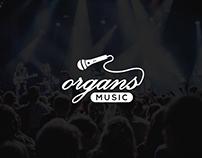 Organs Music Logo