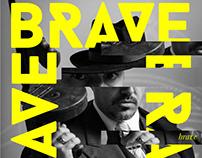 BRAVE - estudo tipografias