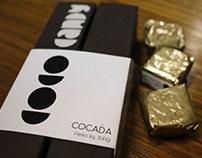 Coco Candy - Embalagem refinada para cocada