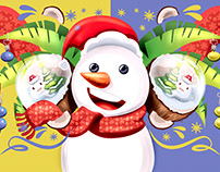 Propuesta Gráfica Navidad Coco - Link