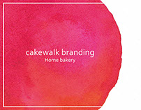 cakewalk: logo design