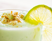 FOOD STYLING: Key Lime Protein Shake