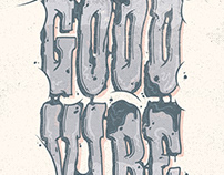 Good Vibe Typography