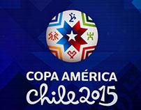 Armado Copóreo / Trofeo Copa América 2015