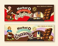 "MARKET O ""Real chocolate"""