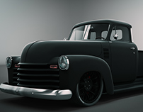 1951 Customized Chevrolet Pickup