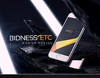 BidnessETC Mobile Web Design
