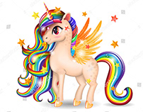 My Pony Unicorn Art in game on Google Play. Link inside
