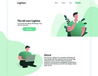 Landing Page Design | Lighten
