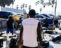 Satisfy running Los Angeles, Pierre David