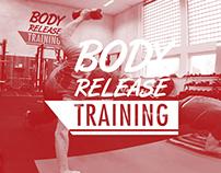 Body Release Training   Identity design