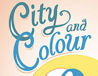 City and Colour Show Poster