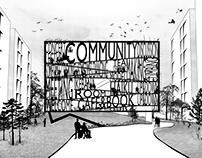 Community center for elderly citizens / Tokyo 2014