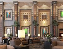 club social center building
