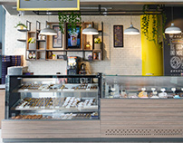 Planet Donuts Interior Design - Khalda Branch