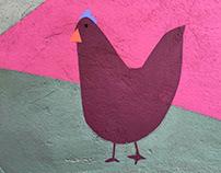 Las gallinas de Luisa