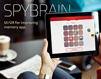 SpyBrain - Game UI/UX