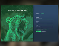 Daily UI #1 - Sign-Up