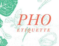 Pho Etiquette Book