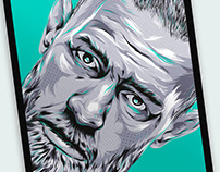 Conor McGregor ILLUSTRATION