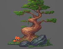 Tree + video process