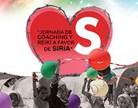 Cartel para evento de Jornadas por Siria