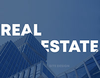 Real Estate site design