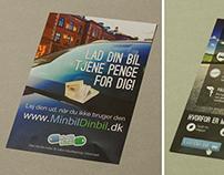 Service Flyer for MinBil DinBil