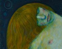 Femme aux cheveux rouge II, 2013