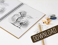 Sketchbook Mock-up & Sketch Actions
