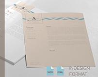 Letterhead - Modern Design