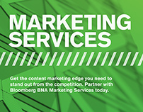 Marketing Services Brochure
