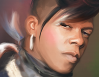 """Big Freedia, Queen Diva"" by L. M. Labat"