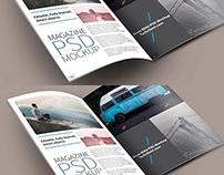 Latest Free Magazine PSD Mockup Templates