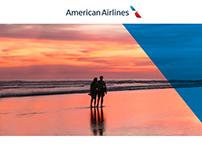 American Airlines Partner Marketing Website