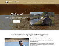 Sitio Web Lodge de Pesca