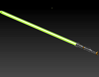 3D Game Prop - Star Wars Lightsaber