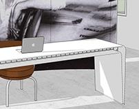 LC2 Petit Modelé Armchair by Le Corbusier Exhibit