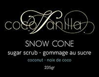 Bath & Body Product Labels for CocoVanilla