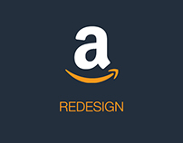 amazon.com Redesign | New eCommerce UI for AMAZON
