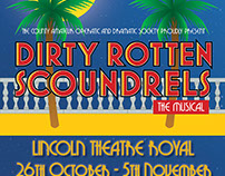 Dirty Rotten Scoundrels Marketing Design