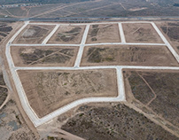 Dron Barrio industrial Serena Norte