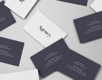 Business Card Mockup - Spread